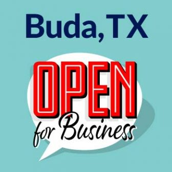 Buda-Open For Business